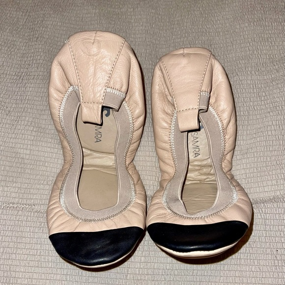 Yosi Samra Leather Flats